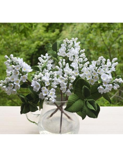 Bouquet of 25 white lilac buy price 33400tg delivery and order bouquet of 25 white lilac mightylinksfo