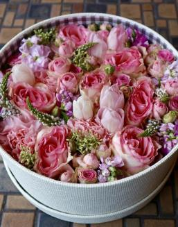 Pink Heaven | Flowers on Anniversary flowers