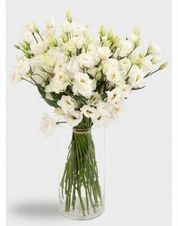 Bouquet of eustoma (15 pieces) | Flowers on Anniversary flowers