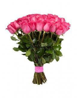 Bouquet of 15 pink Dutch roses | Dutch roses