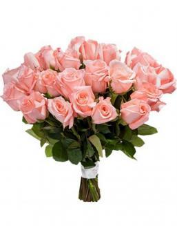 Bouquet of 33 pink roses | Flowers on Anniversary flowers